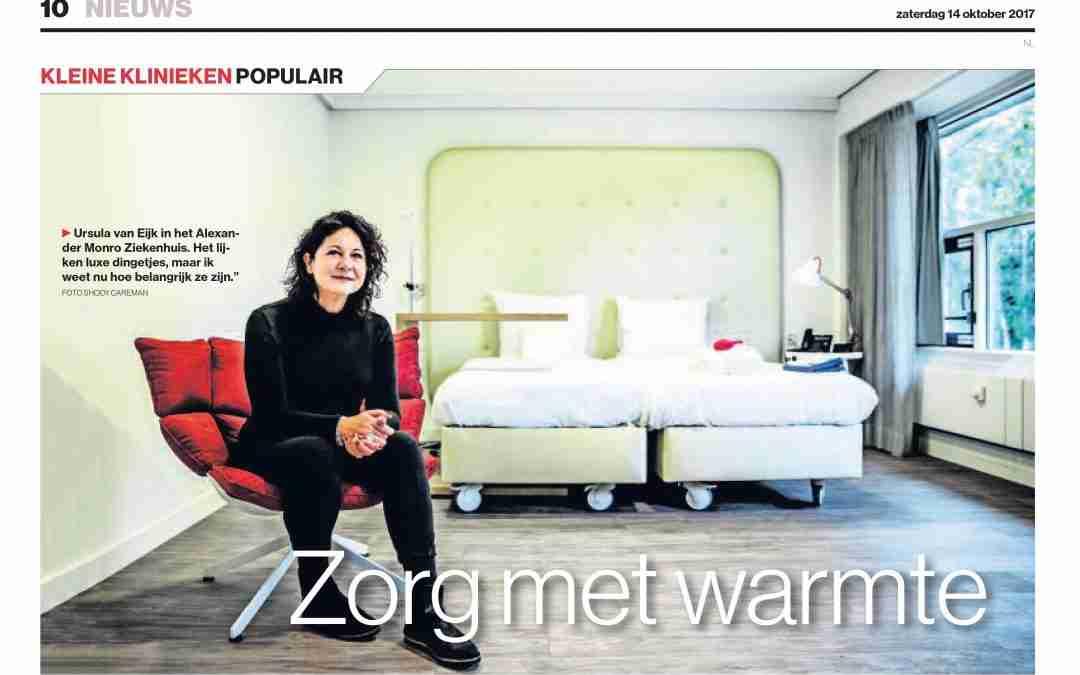 Zorg met warmte – Algemeen Dagblad