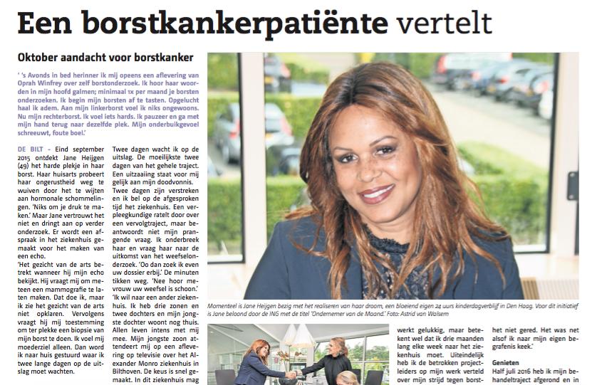 Persoonlijk verhaal – Biltsche Courant