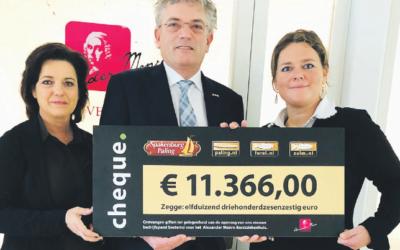 € 11.366 ingezameld voor AMZ en BCF
